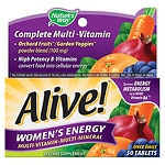 Nature's Way Alive! Women's Energy Multivitamin, Tablets- 50 ea