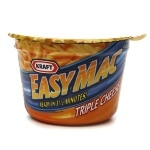 Kraft Easy Mac Single Serve Cups, Triple Cheese, 10 pk- 1.9 oz