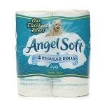 Angel Soft BathTissue, Regular Roll, Unscented