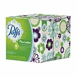 Puffs Plus Lotion Facial Tissues, Cube, 1 box (56 count)