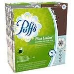 Puffs Plus Lotion Facial Tissues, 4 pk