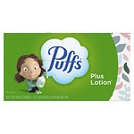 Puffs Plus Lottion Facial Tissues, 1 box