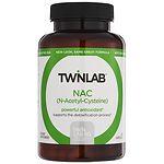 Twinlab NAC (N-Acetyl-Cysteine), 600mg, Capsules- 60 ea