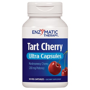 Enzymatic Therapy Tart Cherry Ultra, Vegetarian Capsules- 90 ea