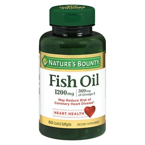 Nature's Bounty Odorless Fish Oil, 1200mg, Softgels- 60 ea