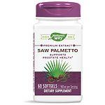 Nature's Way Standardized Saw Palmetto, Softgels- 60 ea