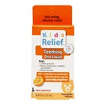 Homeolab USA Kids Relief Teething Oral Liquid, Ages 0-9, Orange