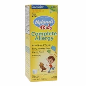 Hyland's 4Kids Complete Allergy Liquid- 4 fl oz