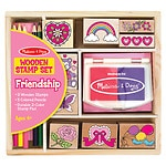 Melissa and Doug Friendship Stamp Set, Ages 4+