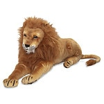 Melissa and Doug Lion - Plush, Ages 3+