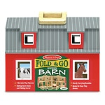 Melissa and Doug Fold & Go Barn, Ages 3+- 1 ea