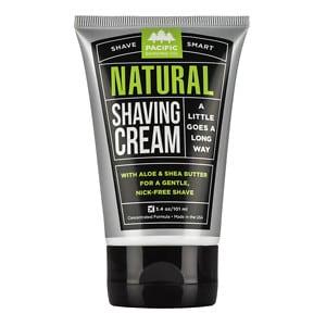 Pacific Shaving Company All Natural Shaving Cream- 3 oz