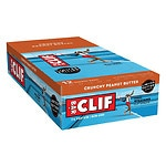Clif Bar Energy Bars 12 pack, Crunchy Peanut Butter