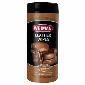 Weiman Leather Wipes- 30 ea