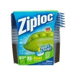 Ziploc Extra Small Bowl Containers, Extra Small