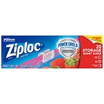Ziploc Slider Storage Bags, Quart