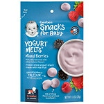 Gerber Graduates Yogurt Melts, Mixed Berry- 1 oz