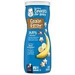 Gerber Graduates Puffs Cereal Snack, Banana- 1.48 oz