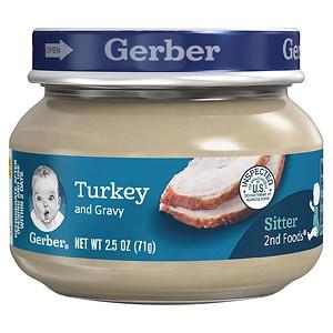 Gerber 2nd Foods Baby Food, Turkey & Gravy