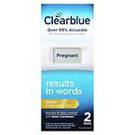 Clearblue Digital Pregnancy Test with Smart Countdown- 2 ea