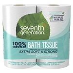 Seventh Generation Recycled Bath Tissue, Big Rolls, 4 pk- 300 sh