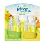 Febreze NOTICEables, Dual Scented Oils, Refill, Sweet Citrus/Fresh Zest