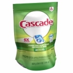 Cascade 2-in-1 ActionPacs with Dawn Dishwasher Detergent, Fresh