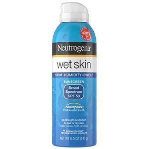 Neutrogena Wet Skin Sunscreen Spray, SPF 50