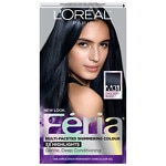 L'Oreal Feria Midnight Collection Haircolor, Cool Soft Black