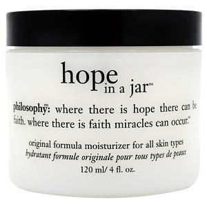 philosophy hope in a jar original formula for all skin types- 4 oz