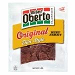 Oh Boy! Oberto Classics, Thin Style Beef Jerky, Original- 3 oz