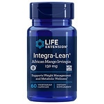 Life Extension Integra-Lean Irvingia 150mg, Vegetarian Capsules- 60 ea