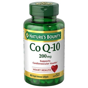Nature's Bounty Q-Sorb CoQ10, 200mg, Softgels