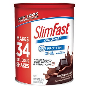 Slim-Fast 3-2-1 Plan Shake Mix, Chocolate Royale&nbsp;