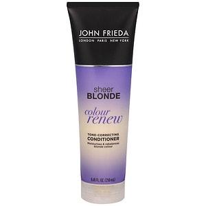 John Frieda Sheer Blonde Color Renew Tone Correcting Conditioner- 8.45 fl oz