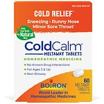Boiron Coldcalm, Cold Relief Quick Dissolving Tablets- 60 ea
