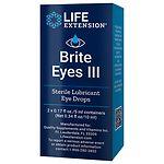Life Extension Brite Eyes III Vials, 2 pk- .17 oz