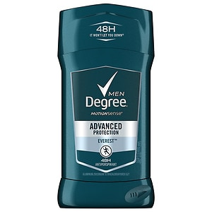 Degree Men Adrelaline Series, Antiperspirant & Deodorant Solid, Everest