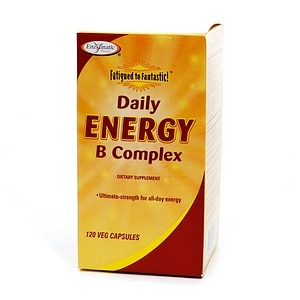 Enzymatic Therapy Daily Energy B Complex, Vegetarian Capsules- 120 ea