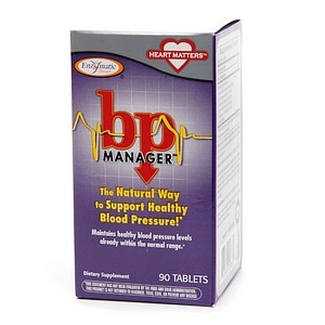 Enzymatic Therapy BP Manager, Tablets