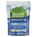 Seventh Generation Automatic Dishwasher Detergent Concentrated Pacs, Free & Clear