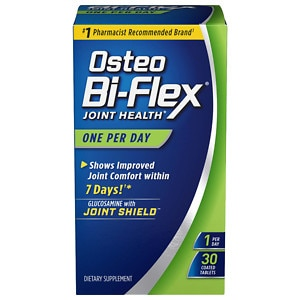 Osteo Bi-Flex One Per Day Glucosamine HCl plus Vitamin D3,  Coated Caplets, 30 ea