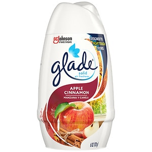 Glade Solid Air Freshener, Apple Cinnamon