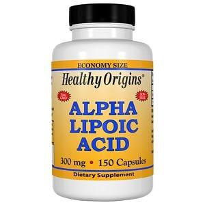 Healthy Origins Alpha Lipoic Acid, 300mg, Capsules- 150 ea
