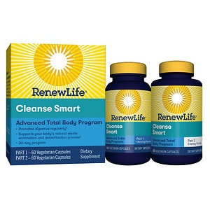 ReNew Life CleanseSmart, 30-Day Program- 120 oz