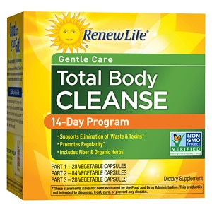 ReNew Life Organic Total Body Cleanse, 3-Part Program, 1 set Health Fitness Skin Care Beauty Supply Deals