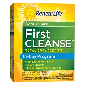 ReNew Life First Cleanse, Vegetable Capsules- 60 ea
