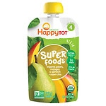 Happy Tots Organic Superfoods, Spinach, Mango & Pear- 4.22 oz
