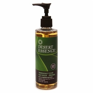Desert Essence Thoroughly Clean Face Wash with Organic Tea Tree Oil and Awapuhi, 8.5 fl oz