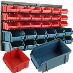 ADG 30 Bin Wall Mounted Parts Rack- 1 ea